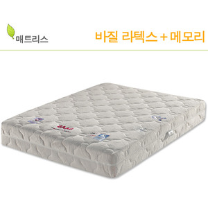 국내산 라텍스+메모리 침대 매트리스 바질 DSA-B016