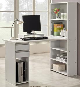 h형 책장 책상 세트(모니터받침대 포함) rvfd-308