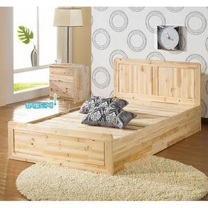 삼나무 슈퍼싱글 침대(매트리스 별매) dsif-108